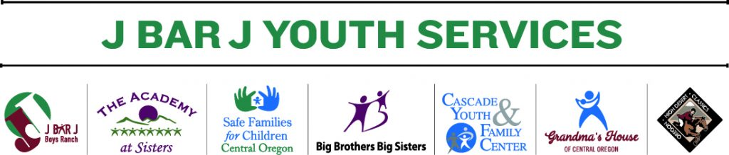 J Bar J Youth Services logo line